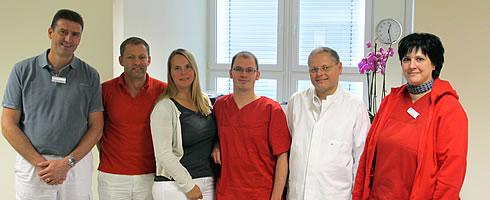 Team der radiologischen Praxis